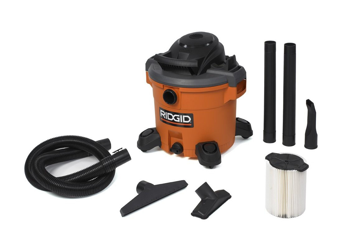 RIDGID 40128 - Wet/Dry Vacuum 16 Gallon  230v