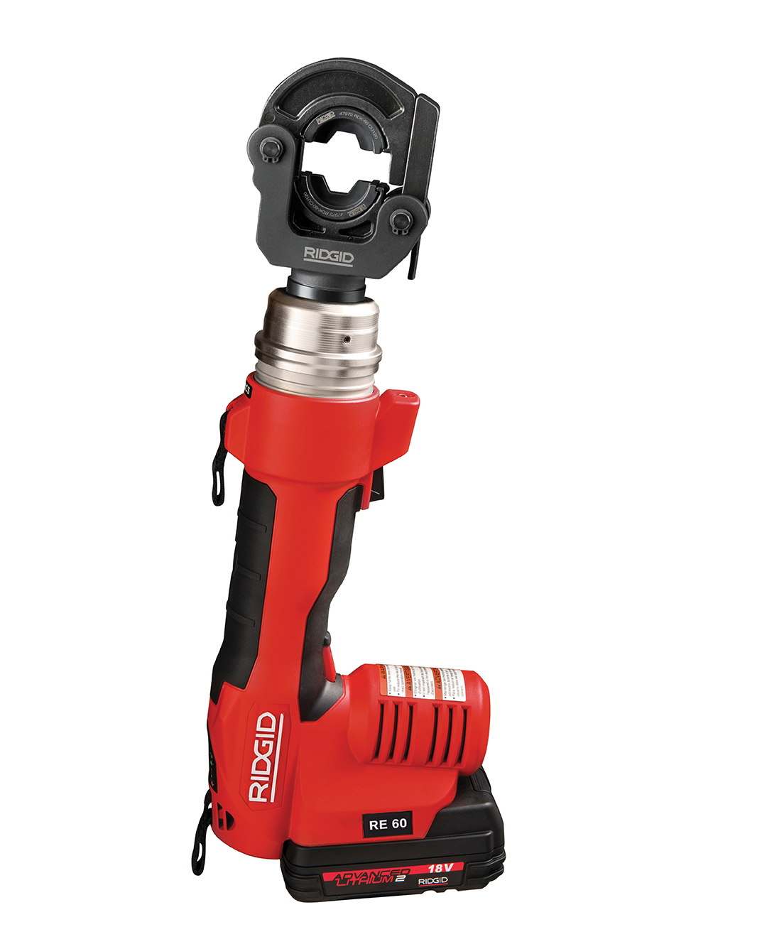 RIDGID 43628-RE60 - RE-60 Battery Powered Hydraulic Tool – Cut & Crimp Kit