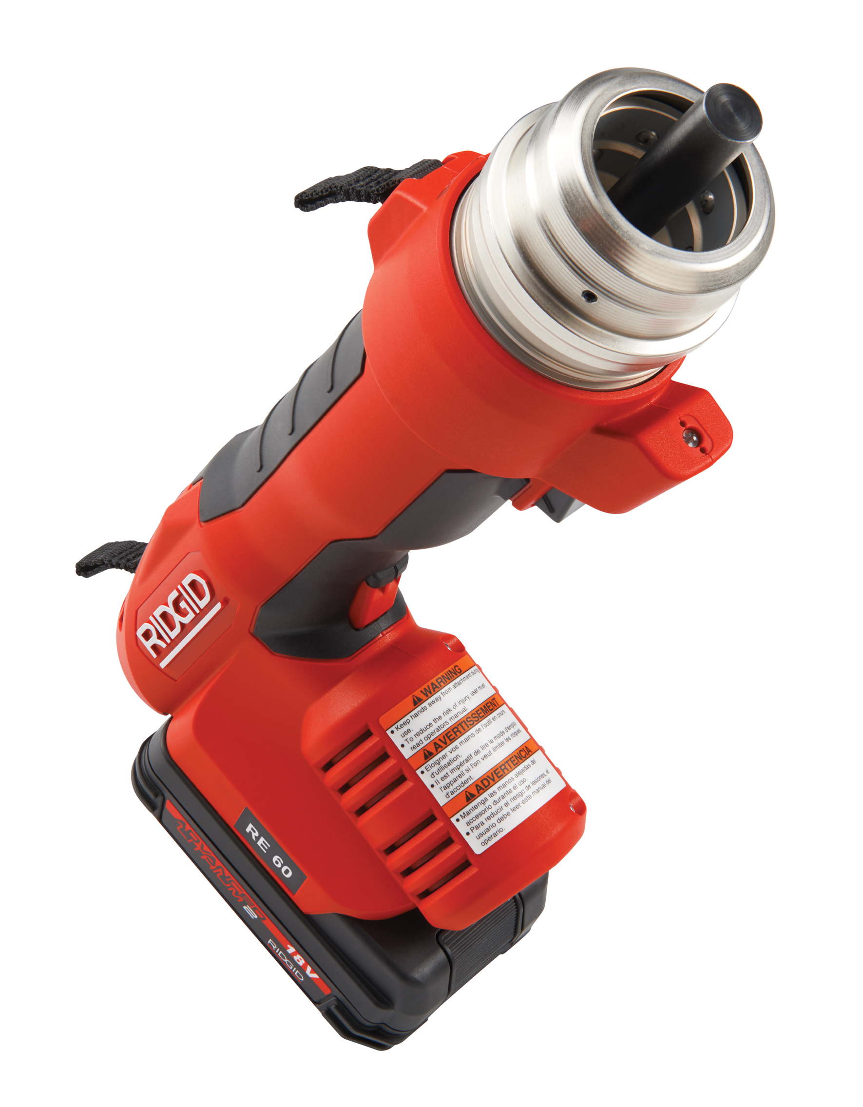 RIDGID 43613-RE60 - RE-60 Battery Powered Hydraulic Tool – Crimp Only Kit