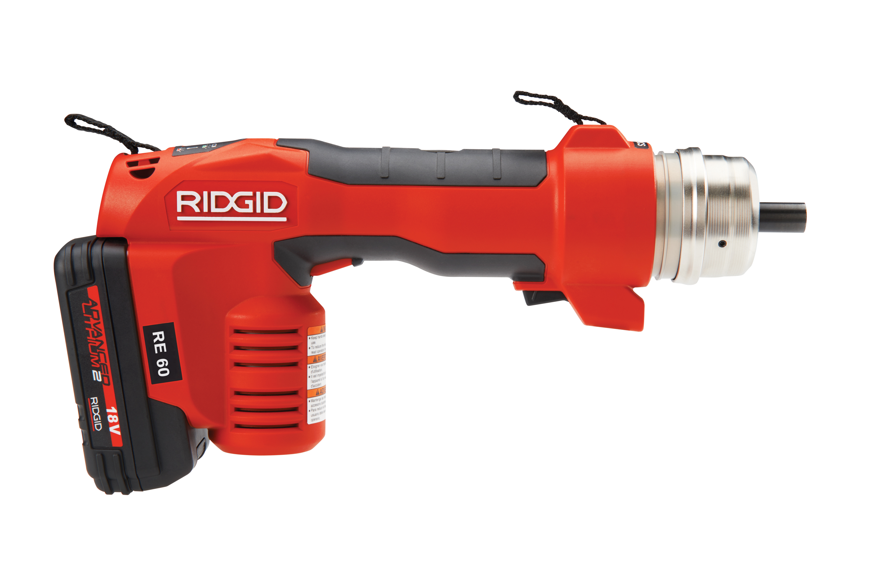 RIDGID 43633-RE60 - RE-60 Battery Powered Hydraulic Tool Full Kit – Cut; Crimp & Punch