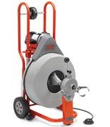 RIDGID 44212/K750 - K-750 Drum Drain Cleaner w/cable 3 – 10 in 220v