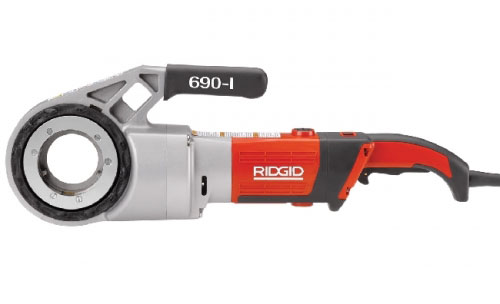 RIDGID 44933 - 690-I Handheld Threading Machine Bspt – 1/2 to 2inch