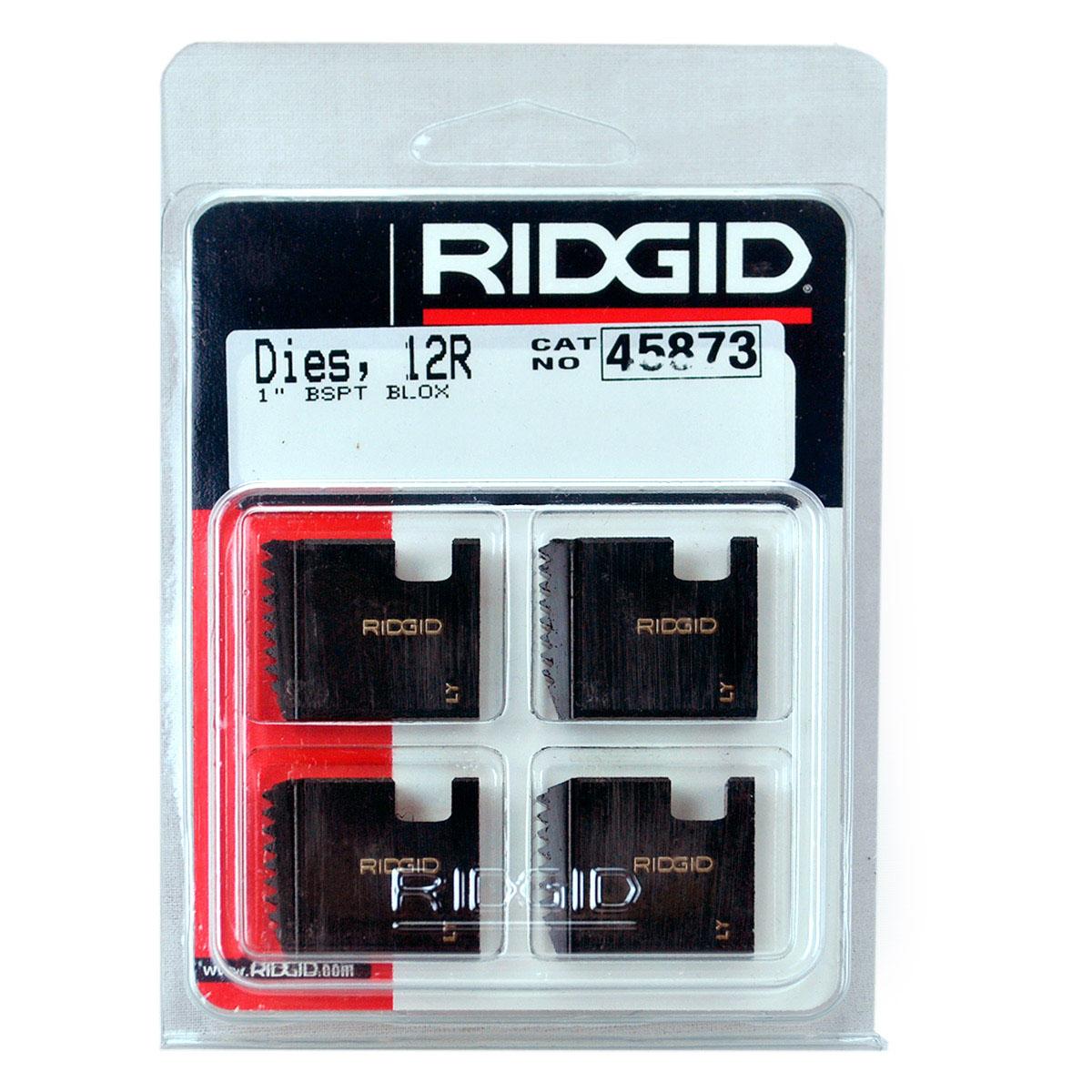 RIDGID 45873 - Pipe Die Set Bspt – 1inch