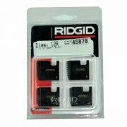 RIDGID 45878 - Pipe Die Set Bspt – 1-1/4inch