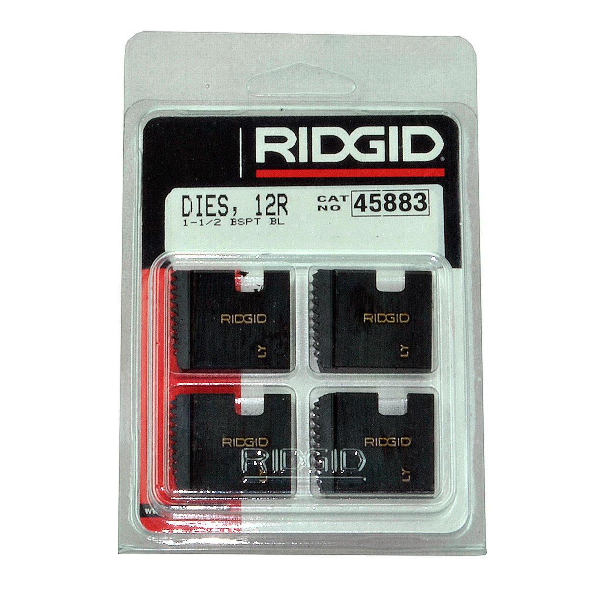 RIDGID 45883 - Pipe Die Set Bspt – 1-1/2inch