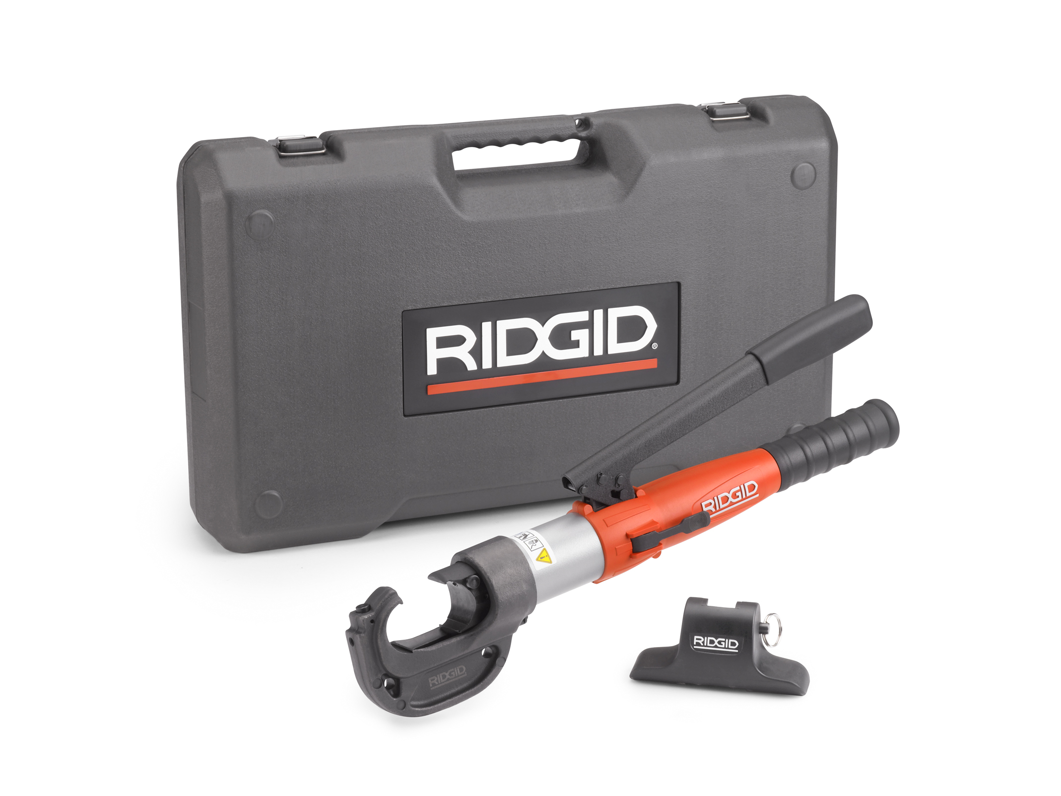 RIDGID 48378-RE130M - RE 130-M Hydraulic Crimping Tool & Case (no dies)