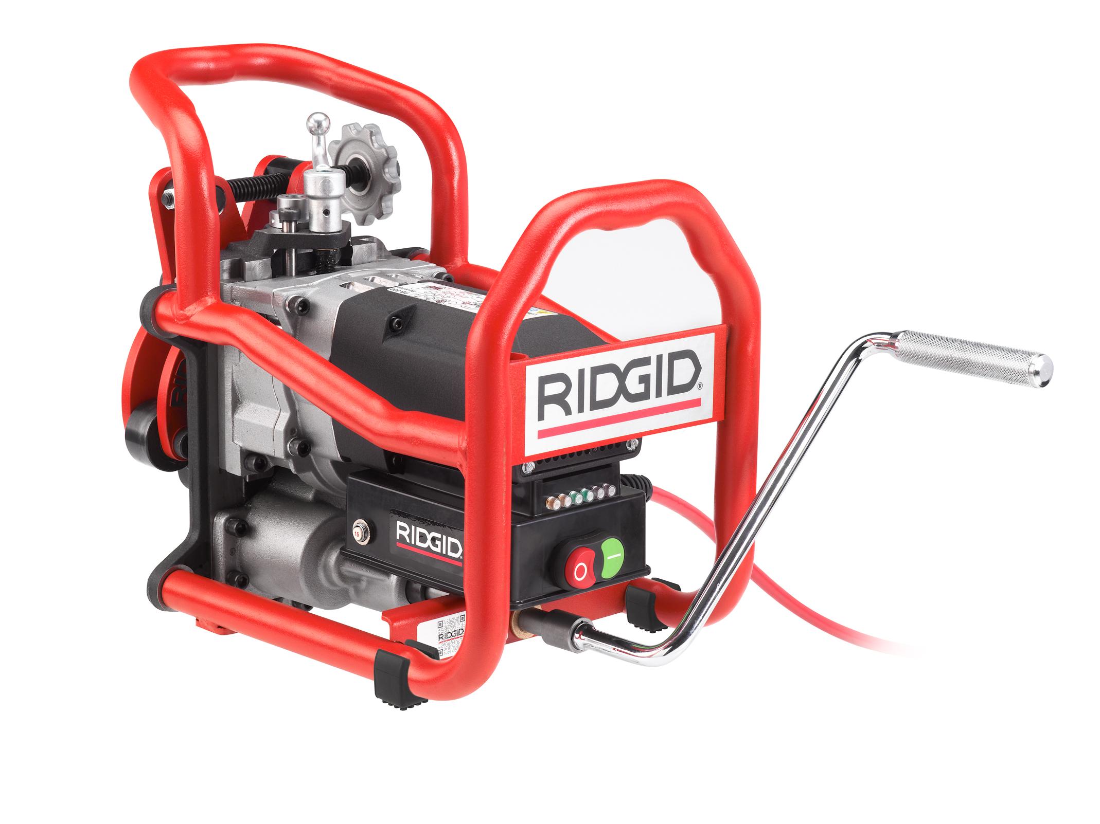 RIDGID 49298 - B-500 Transportable Pipe Beveller w/371/2° Cutter Head 110v