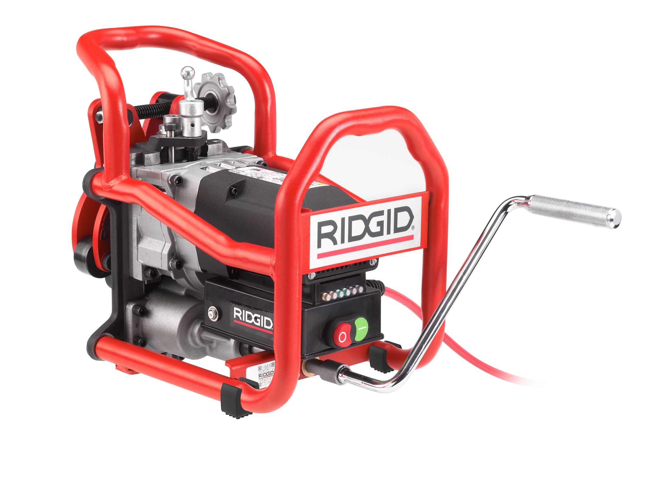RIDGID 49303 - B-500 Transportable Pipe Beveller w/371/2° Cutter Head 220v