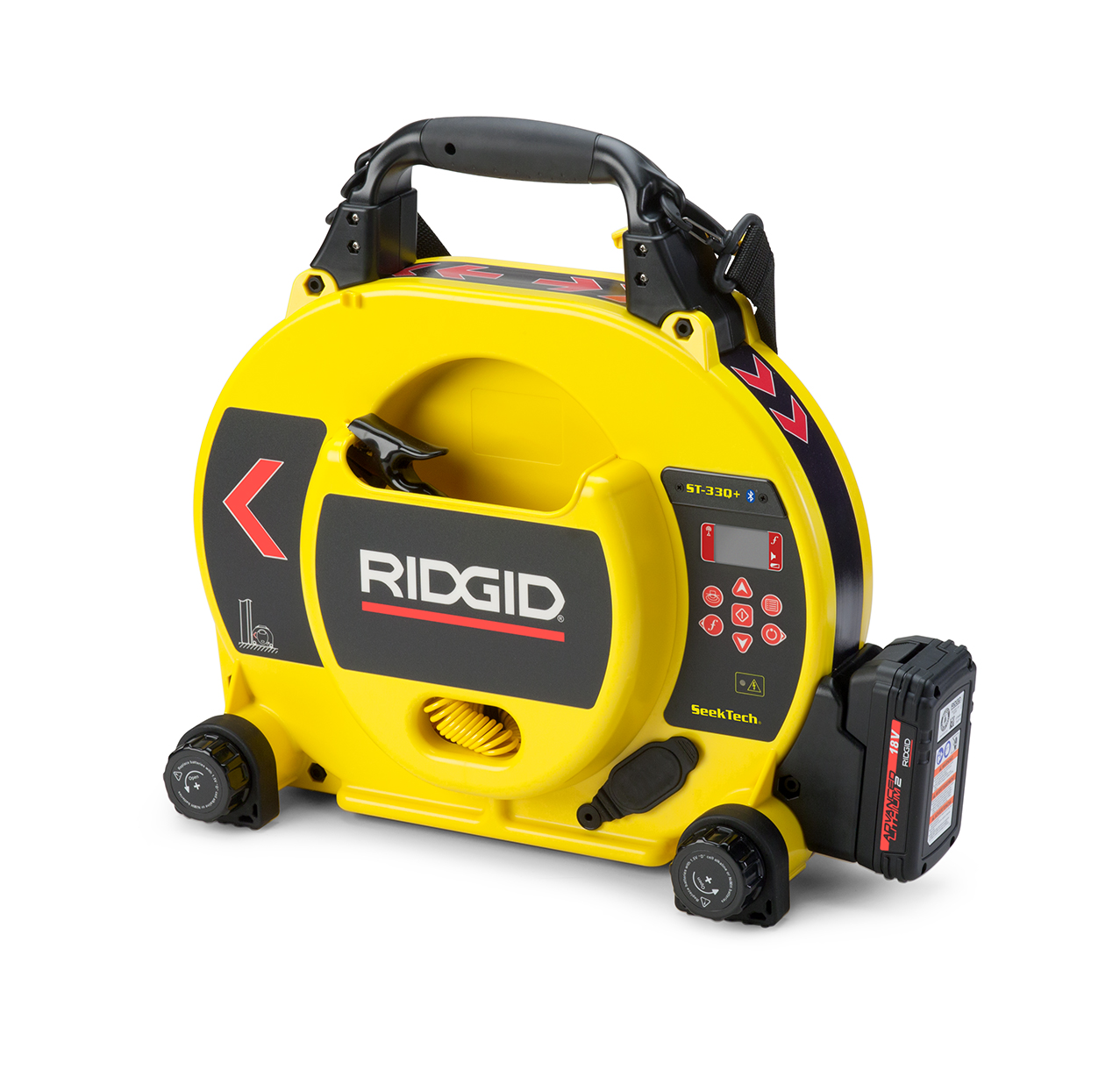 RIDGID 49338/ST33Q+ - ST-33Q+ Line Transmitter with Bluetooth®