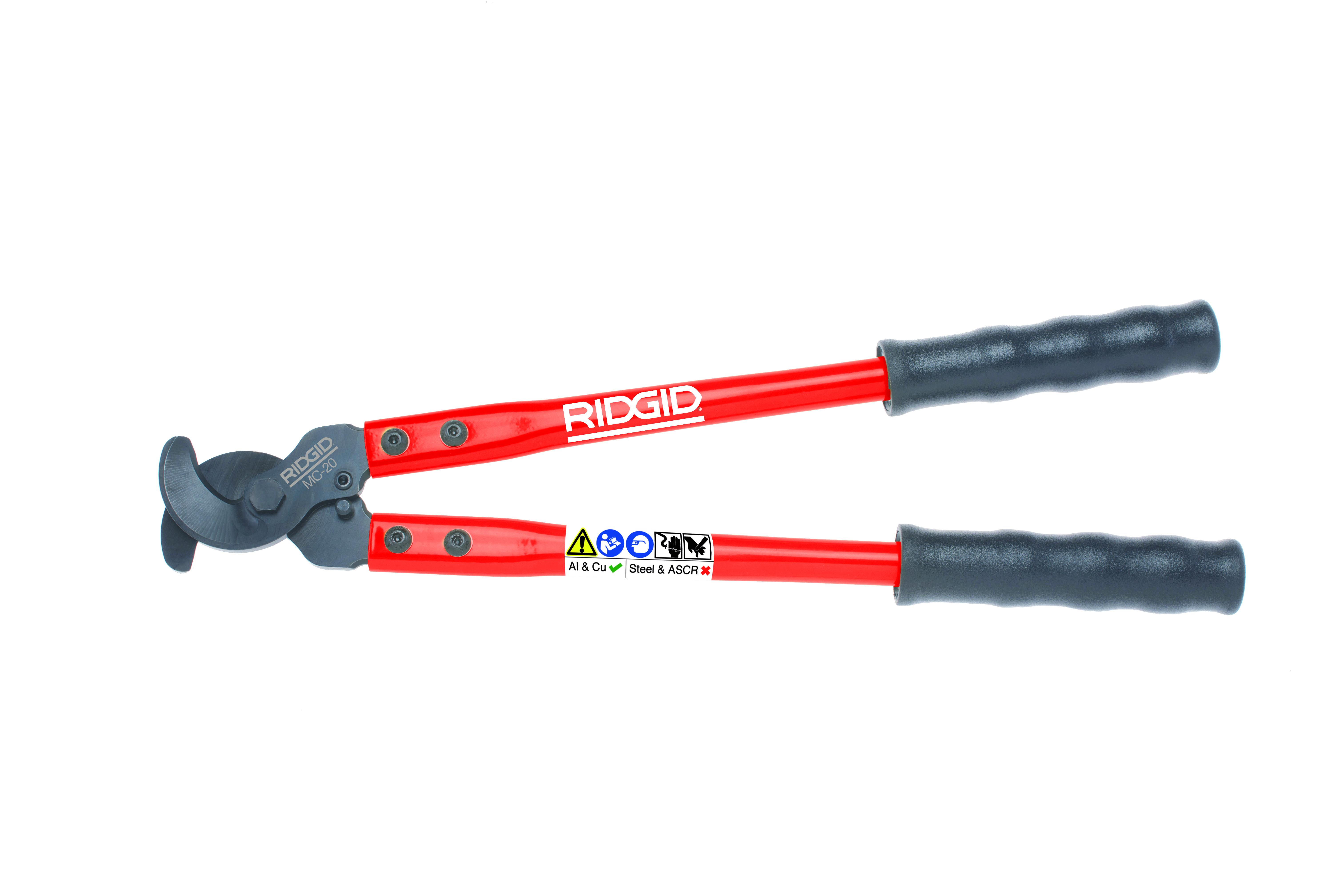 RIDGID 54273/MC20 - MC-20 Manual Leverage Cable Cutter 120mm2 & 20mm