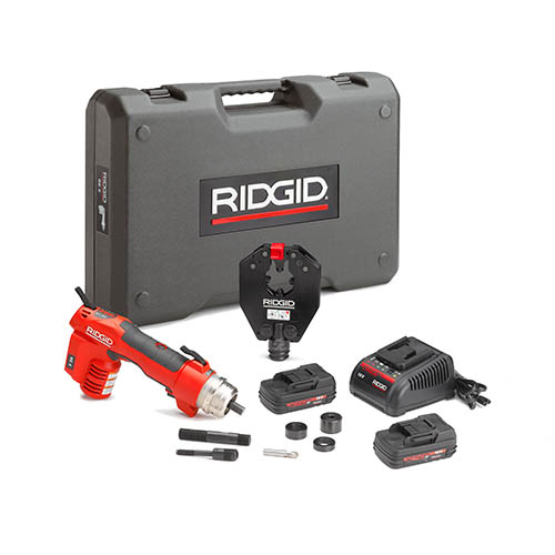 RIDGID 55328-RE60 - RE-60 + 4P  Battery Powered Hydraulic Tool – Dieless Crimp Only-kit: Upto 400 mm²