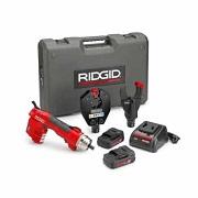 RIDGID 55333-RE60 - RE-60 + 4P  Battery Powered Hydraulic Tool – Dieless Crimp & Cut-kit Upto 400 mm²