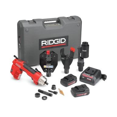 RIDGID 55338-RE60 - RE-60 + 4P  Battery Powered Hydraulic Tool – Cut; Dieless Crimp & Punch-kit Upto 400 mm²