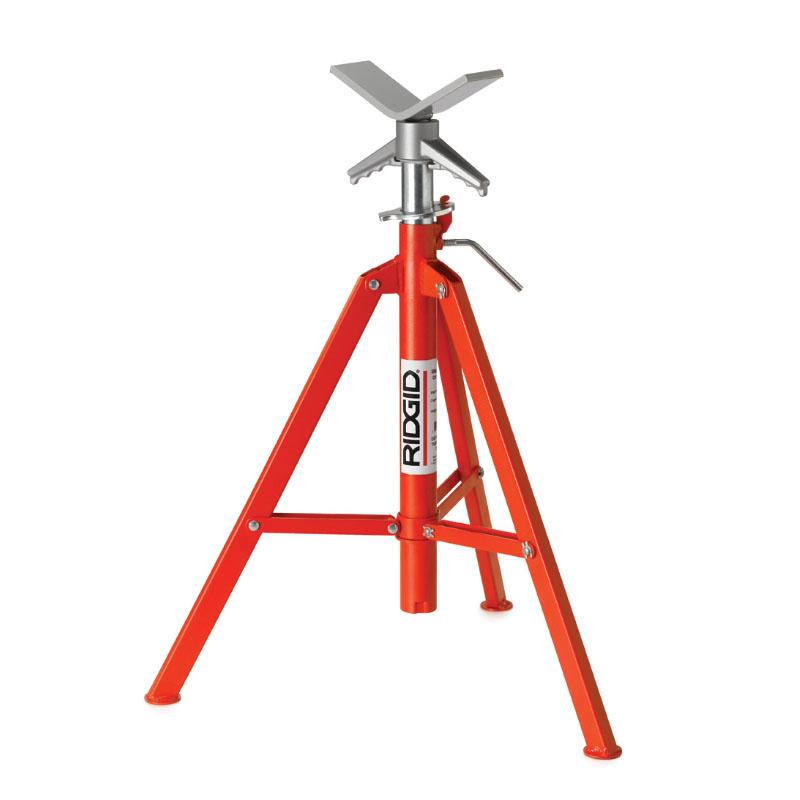 RIDGID 56657 - VJ-98 V Head High Pipe Stand