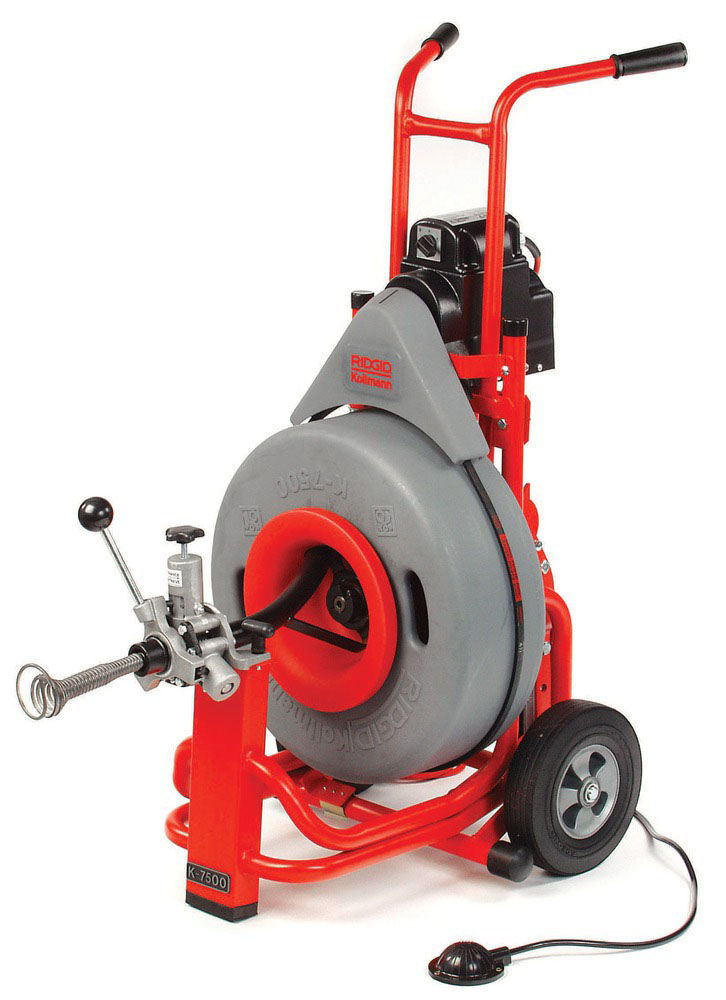 RIDGID 61522-K7500 - K-7500 Drum Drain Cleaner 3 – 10 in 220v