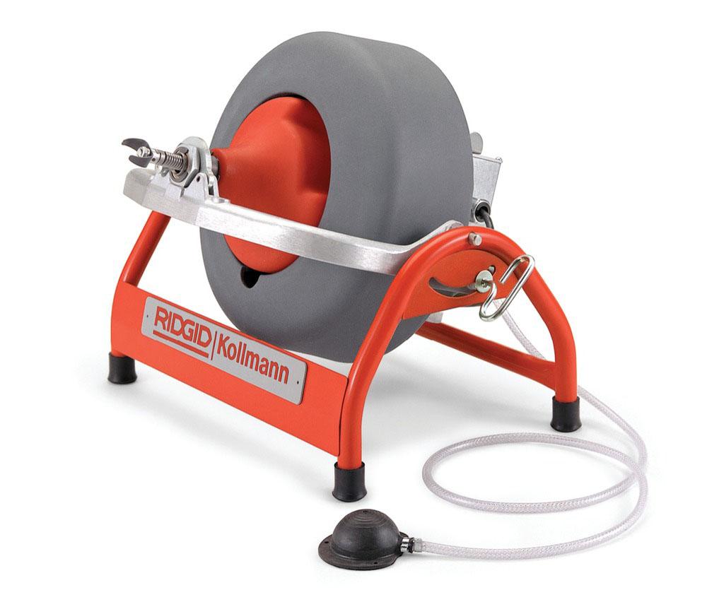RIDGID 63827/K3800 - K-3800 Drum Drain Cleaner w/3/8in cable 3/4 – 4in 230v