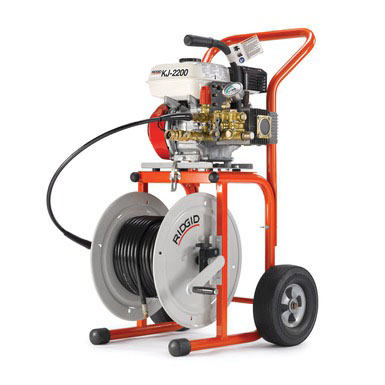 RIDGID 63882-KJ2200C - KJ-2200-C Gas Powered Water Jetter  Cap. 1-1/4 – 6 in