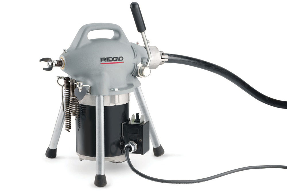 RIDGID 76475 - K-50-4 Sectional Drain Cleaner w/cable 3/4 – 4 in 230v