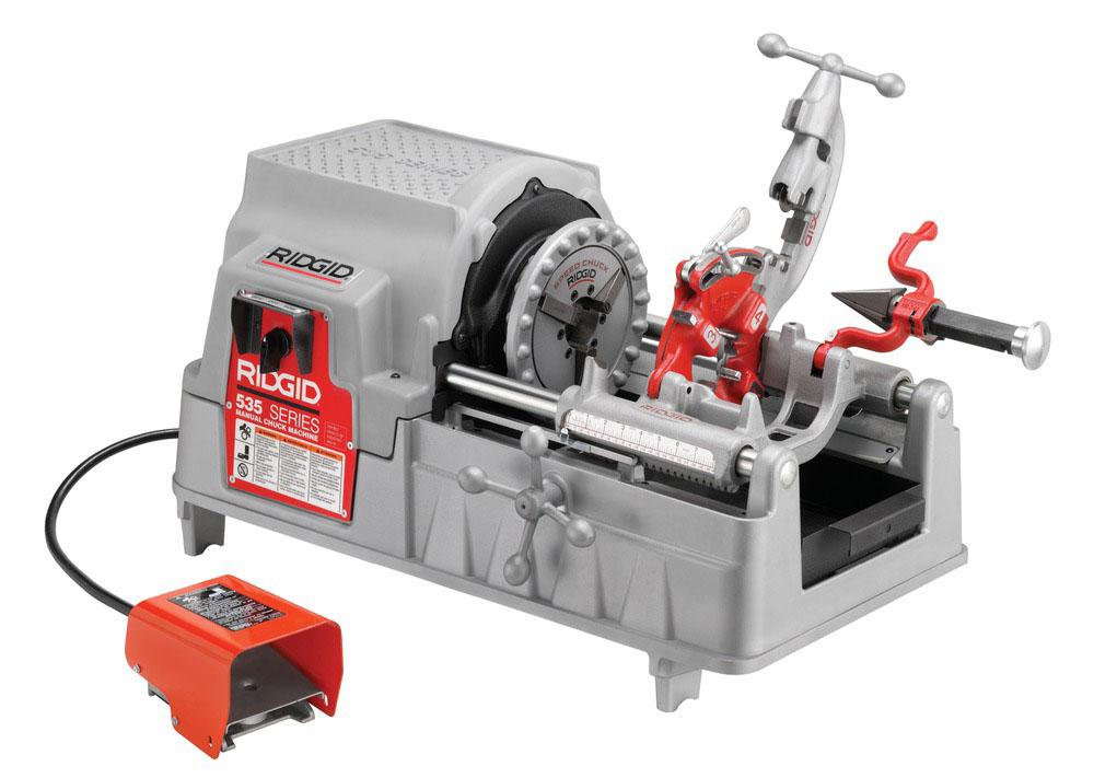 RIDGID 96512 - 535 Threading Machine 230v BSPT
