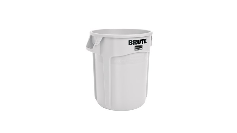 RUBBERMAID FG261000WHT - Brute Container 37.9Ltr W/Out Lid- White