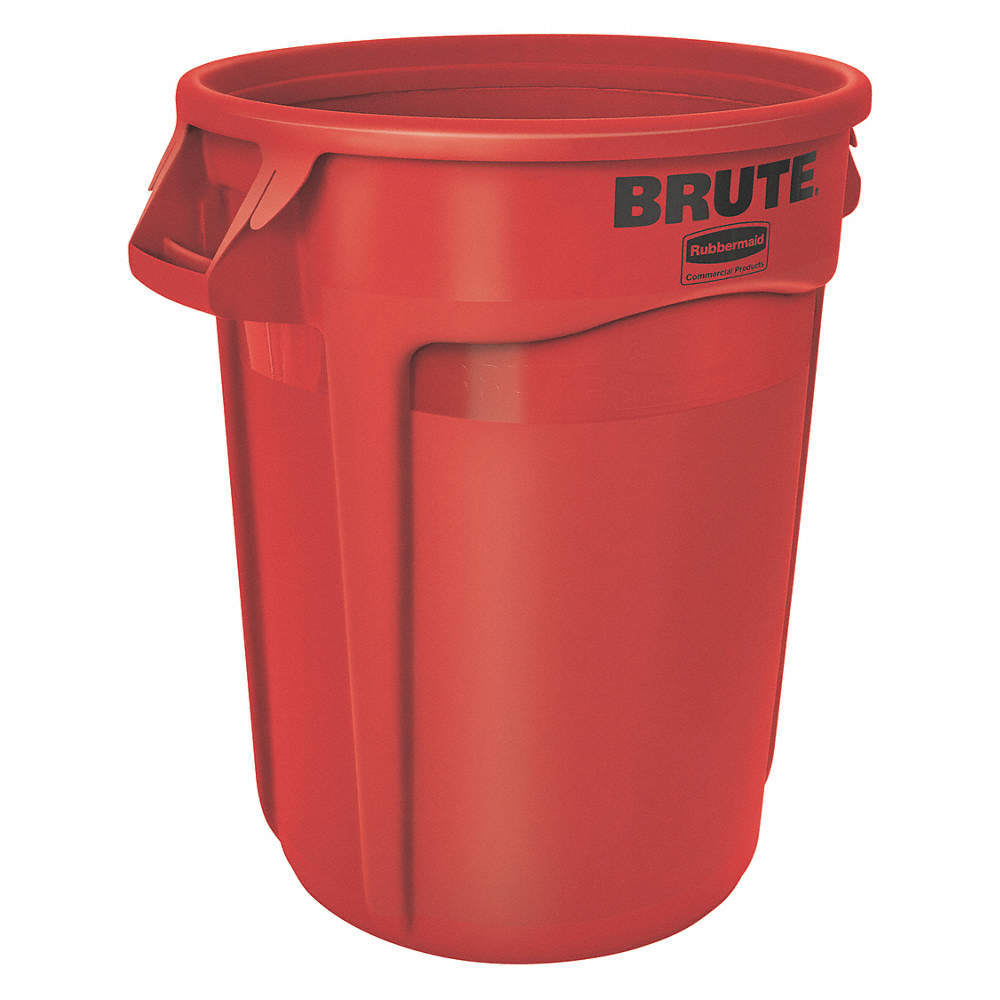 RUBBERMAID  FG262000RED - Vented Brute Container 76L- Red