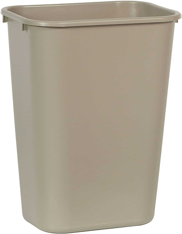 RUBBERMAID FG295700BEIG - Waste Basket Large 41Cap- Beige