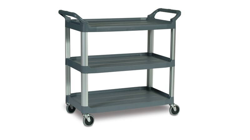 RUBBERMAID_FG409100GRY_Utility Cart