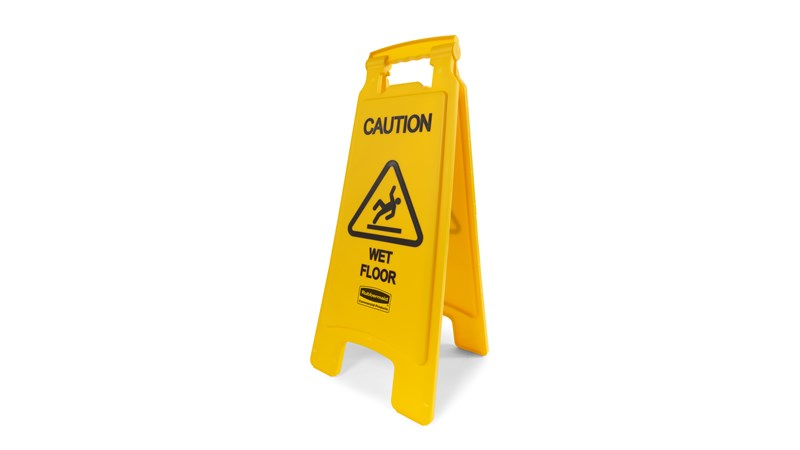 RUBBERMAID_FG611277YEL_Wet Floor Sign