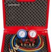 ROTHENBERGER 1706.01 - Standard 4-way gas pressure gauge Set