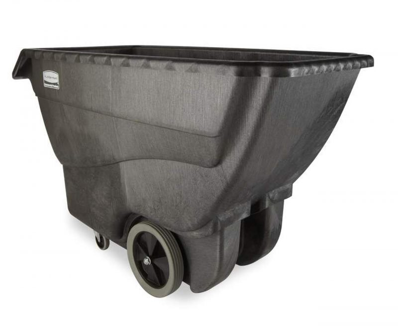 Rubbermaid_FG101100BLA_Std Duty Tilt Truck