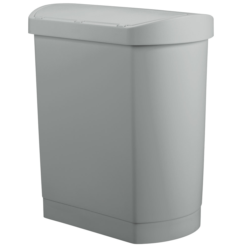 RUBBERMAID_FG1883601_Slim Jim 30 gal - Slim Jim 30L/8Gal W/ Liner Step On- Gray