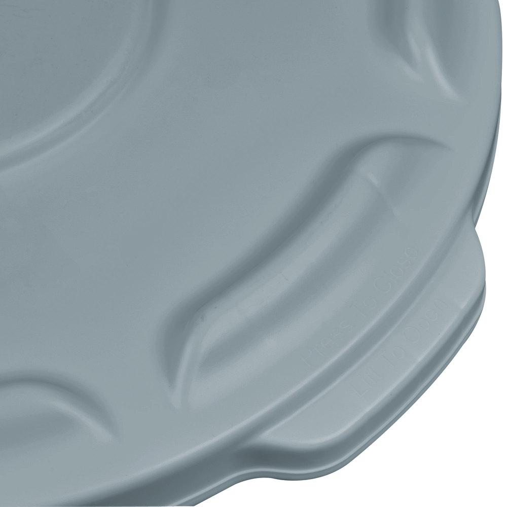 RUBBERMAID_FG260900GRAY_brute Lids gray - Lid Gray Brute Bin