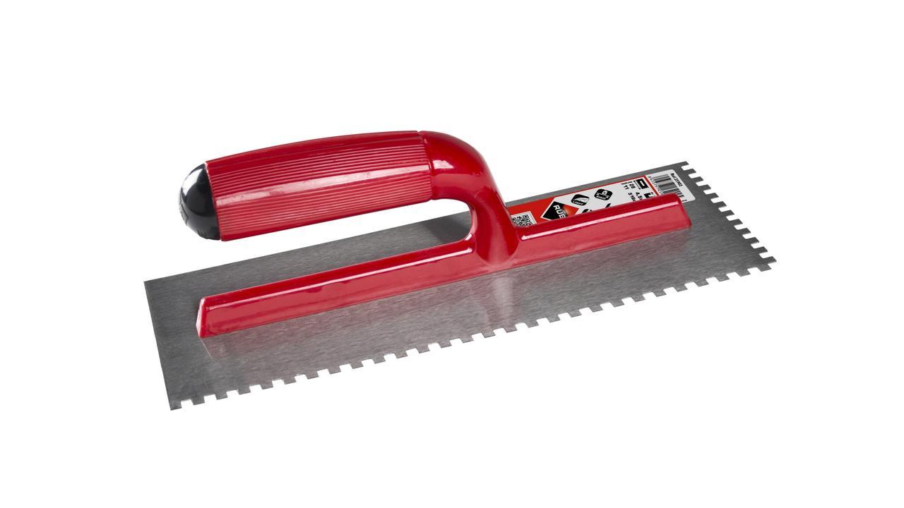 Rubi 25903 - Steel Notched Trowel 11″ (6X6mm)