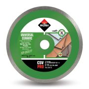 Rubi 25910 - Ceramic Tiles Continuous Rim Diamond Blade 115mm, CSV-115 PRO