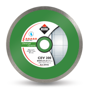 Rubi 30950 - 12″ Ceramic Tiles Continuous Rim Diamond Blade, CEV-300 SUPERPRO