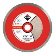 Rubi 30956 - 8″ Porcelain Tiles Continuous Rim Diamond Blade, CPC-200 PRO