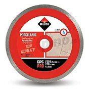 Rubi 30959 - 10″ Porcelain Tiles Continuous Rim Diamond Blade, CPC-250 PRO