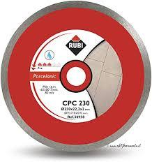 Rubi 30960 - 12″ Porcelain Tiles Continuous Rim Diamond Blade, CPC-300 PRO