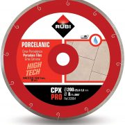 Rubi 30962 - 10″ Porcelain Tiles J-Slot Diamond Blade, CPX-250 PRO