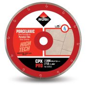 Rubi 30963 - 12″ Porcelain Tiles J-Slot Diamond Blade, CPX-300 PRO