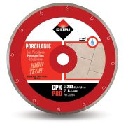 Rubi 30964 - 8″ Porcelain Tiles J-Slot Diamond Blade, CPX-200 PRO