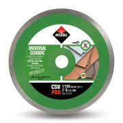 Rubi 31915 - Ceramic Tiles Continuous Rim Diamond Blade 125mm, CSV-125 PRO
