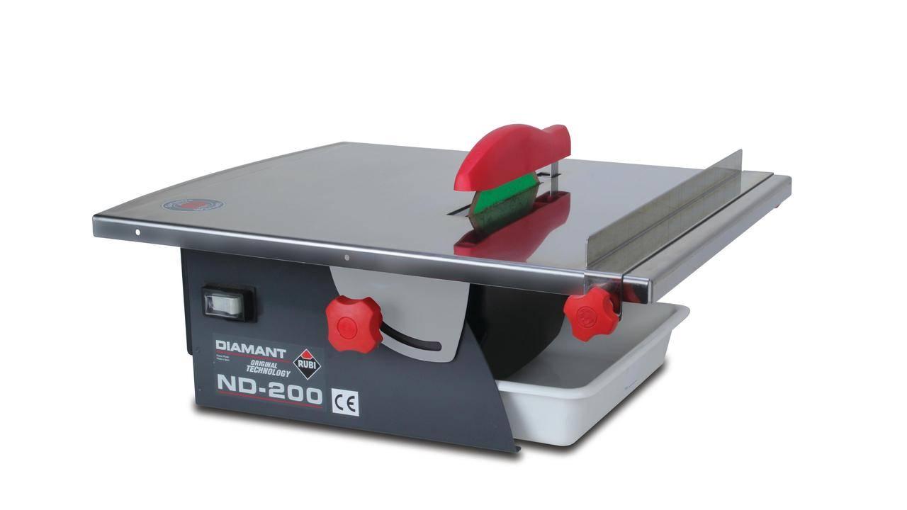 Rubi 45915 - Electric Tile Cutter 230V 50Hz 850W, ND-200