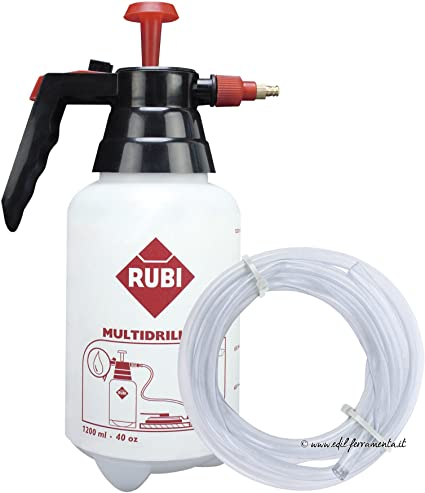 Rubi 50947 - Tank 1200ml and 2m Hose for Multidrill Guide