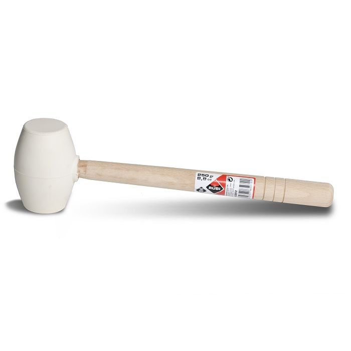 Rubi 65914 - White Rubber Mallet 26.4 oz. (750 gr.)