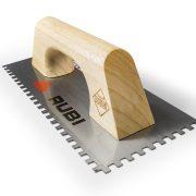 Rubi 65984 - Steel Notched Trowel 11″ 3/8×3/8 (8×8 mm)