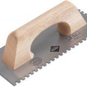 Rubi 65989 - Steel Notched Trowel 11″ 1/8×1/8 (3×3 mm)