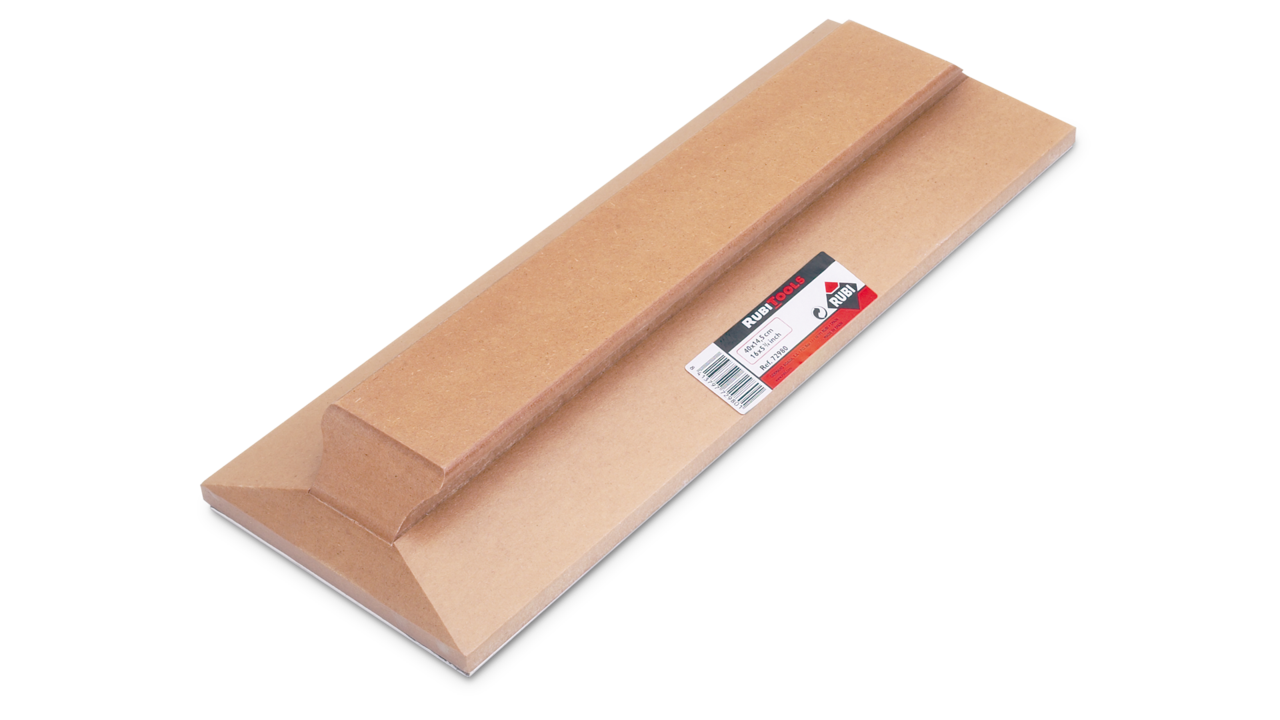 Rubi_72980_Tile Beating Block with Rubber 40x14.5cm