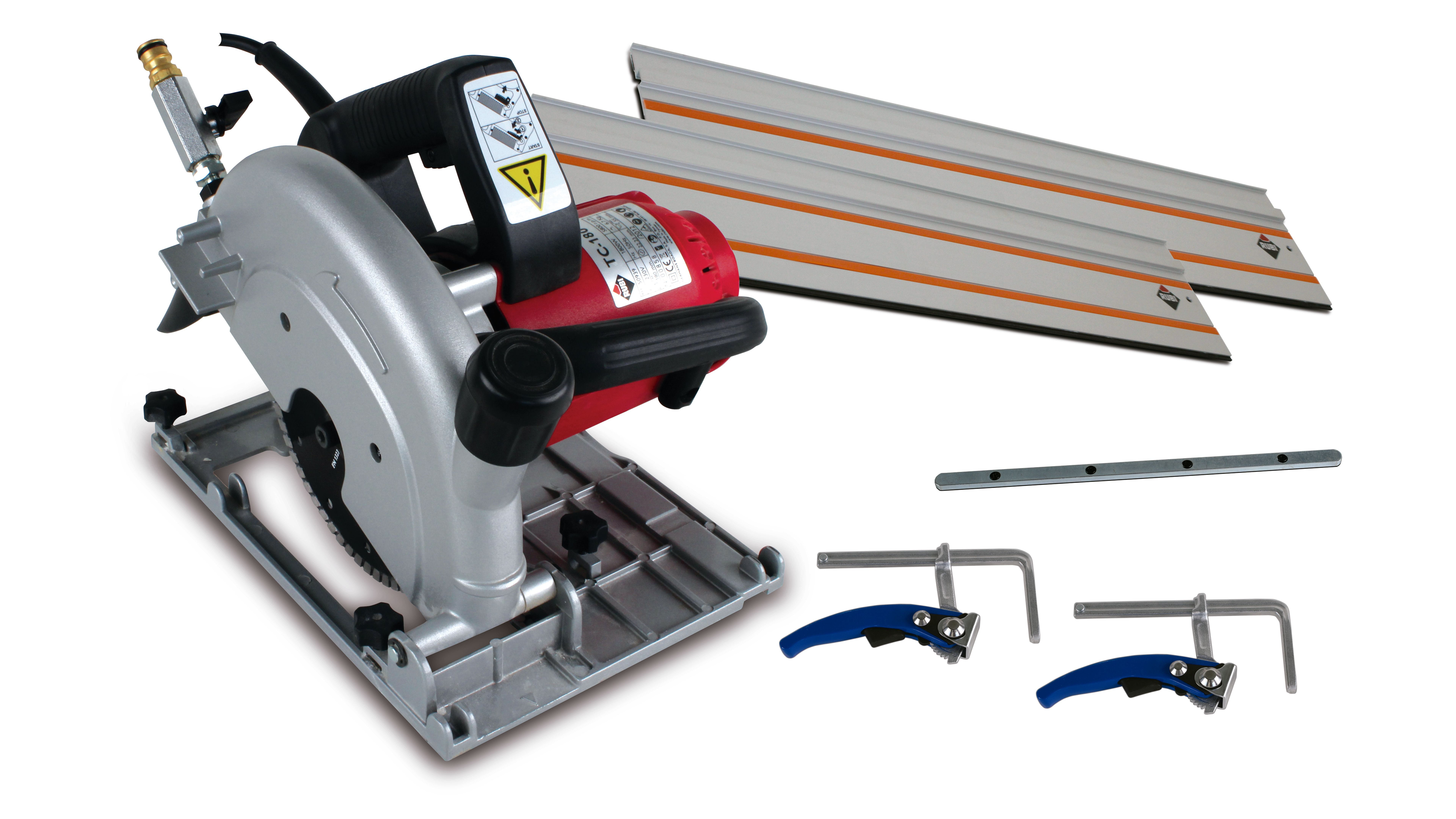 Rubi 50994 - TC-180 230V-50Hz 180mm Electric Circular Saw Kit
