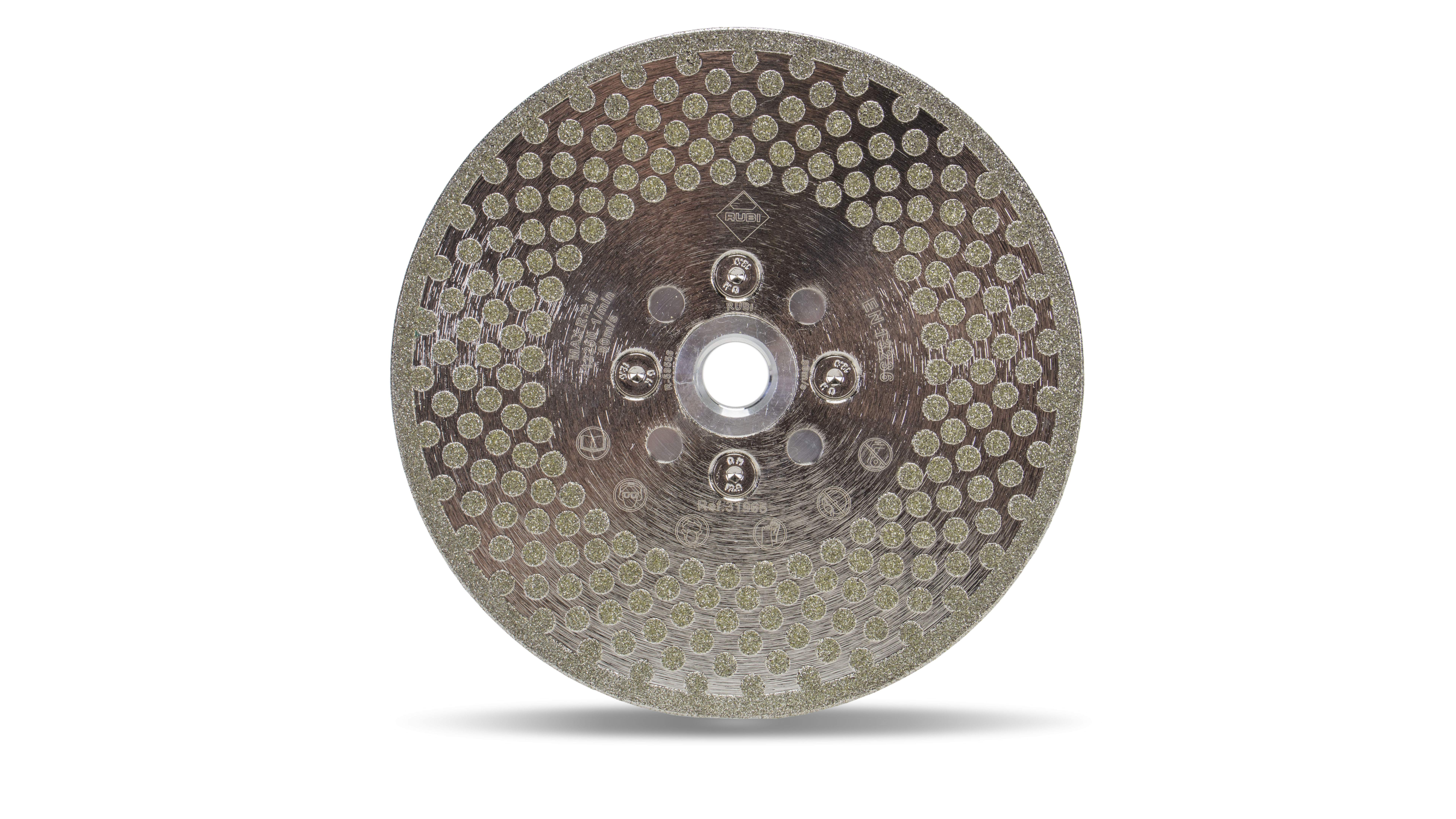 Rubi 31965 - ECD EN1 Super Pro Electroplated Cutting and Grinding Diamond Blade 125mm